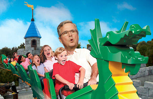 Disney World unveils thrilling new Low Energy Jeb Bush Rollercoaster