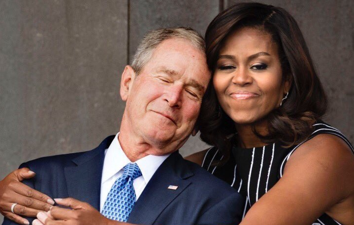 Michelle Obama files for sole guardianship of George W citing alcoholism, abandonment