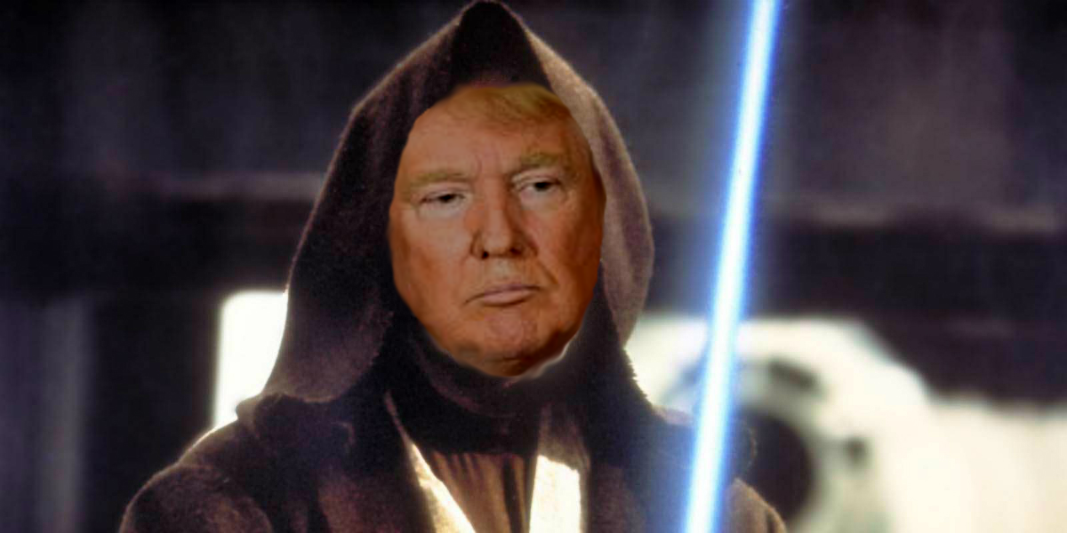 Trump's Medical Report Reveals He is Jedi Knight