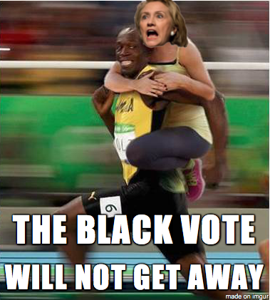 Hillary Clinton pivots to monopolize the black vote